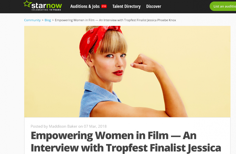 Empowering women in film